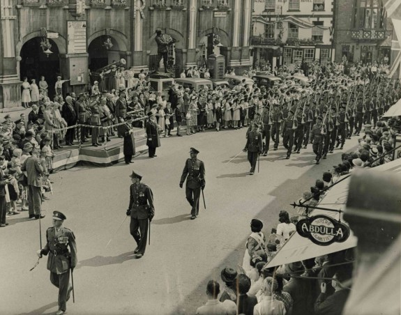 The Regiment was awarded the Freedom of Monmouth in 1953